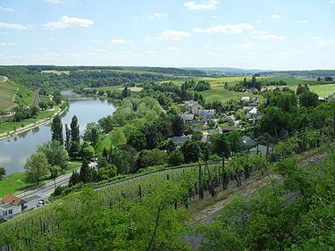 The village of Hëttermillen