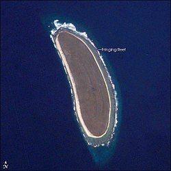 太空中看见的豪兰岛