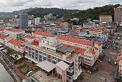 Sandakan city centre