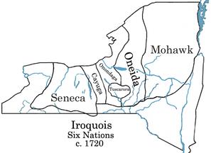六族同盟,公元18世纪