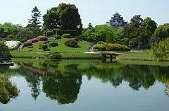 后乐园(御后园)与冈山城