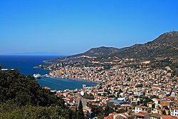 Samos (town), capital of Samos