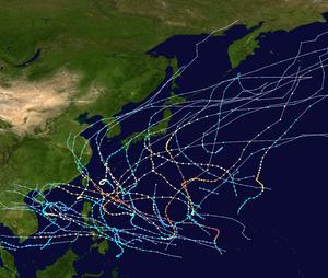 1962 Pacific typhoon season summary map.png