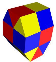 Gyroelongated triangular prismatic honeycomb.png