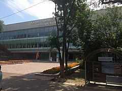 Kazakhstan Republic National library in Almaty.jpg
