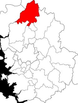涟川郡在京畿道的位置图