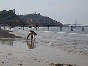 Penglai, Shandong, China, harbour, beach IMG 2111.jpg