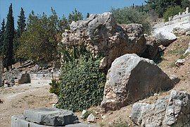 Rock of Sibyl, Rock of Leto, Delphi, Dlfi403.jpg