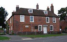 Sizable brick house