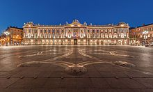 The City hall of Toulouse