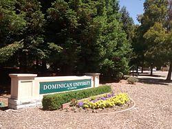 Dominican University of California sign.jpg