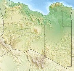 Apollonia (Cyrenaica) is located in Libya