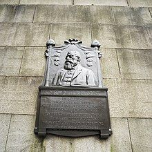 Sir Walter Besant memorial near the Waterloo bridge.jpg