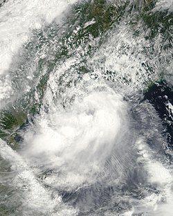 6月23日的热带风暴海马