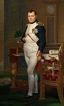 拿破仑在杜勒伊宫的书房,雅克布-路易·大卫