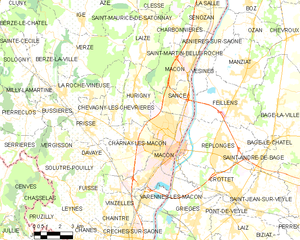 马孔市镇地图
