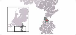 Location of Sittard