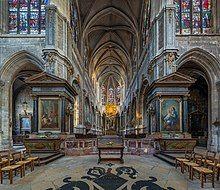 interior of Gothic church
