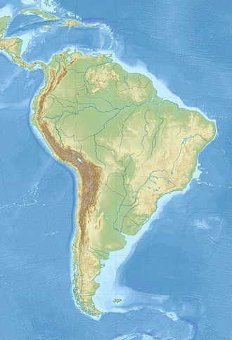 List of impact craters in South America is located in South America