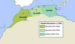 The Marinid Sultanate in 1360