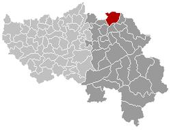 Plombières Liège Belgium Map.png