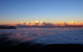 金色贡嘎 - Golden Mountains - 2012.10 - panoramio.jpg