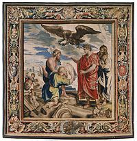 Constantine Directing the Building of Constantinople (tapestry) - 1623-1625.jpg
