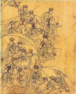 金弘道《平生图》描绘朝鲜王朝时的科举考生