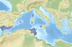 Carthage and its dependencies in 264BC