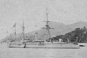 IJN gunboat CHOKAI in 1889.jpg