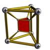四角三角柱体柱