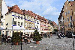 City centre of Osnabrück