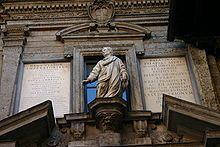 IMG 3148 Giovan Pietro Lasagna, Monumento a Decimo Magno Ausonio - Milano, Scuole palatine - Foto G. Dall'Orto, 3-gen-2006.jpg