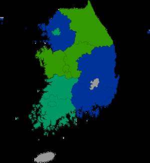 Republic of Korea local election 1995 result (Metropolitan city or Province).png