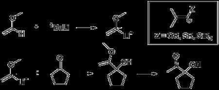 极性转换例子 烯醚