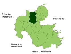 宇佐市位置图