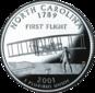 North Carolina quarter dollar coin