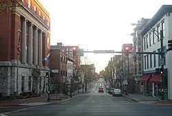 黑格斯敦市中心
