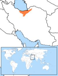 Mazandarani Language Map.PNG