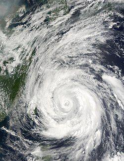 7月3日,台风威马逊达到巅峰。