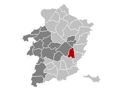 Zutendaal Limburg Belgium Map.png