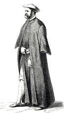 Bearded man in a robe