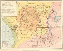 刚果的位置
