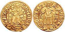 Matthias's golden florin