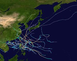 1956 Pacific typhoon season summary map.png