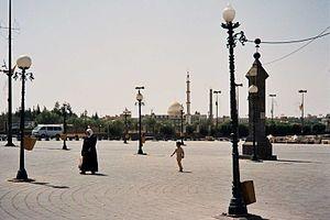 The centre of Bosra