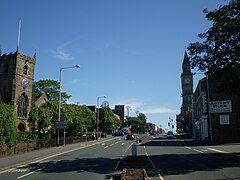 Entering Chorley Town Centre.JPG