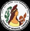 维吉尼亚州亨里科县县徽
