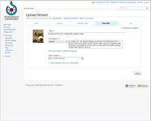 File:Editing basics - Uploading and adding images.webm