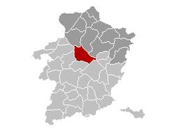 Houthalen-Helchteren Limburg Belgium Map.png